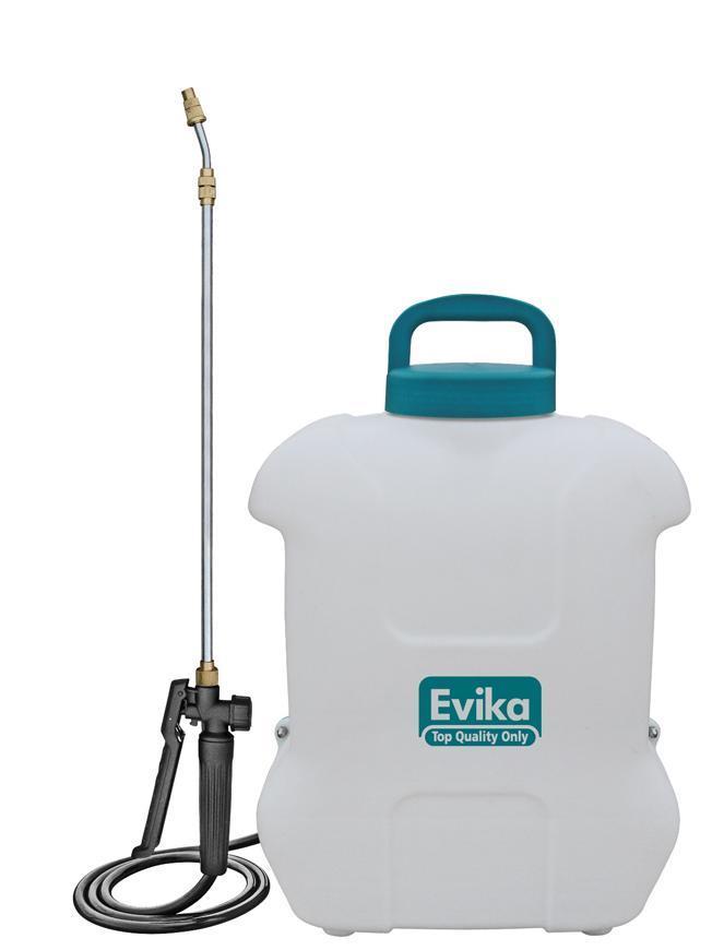 Postrekovač Evika DJ160, 16 lit, 12V, Lithium battery, akumulátorový, na chrbát