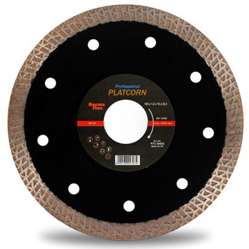 Kotuc GermaFlex Platcorn 125x22.2, 12.200 ot/min