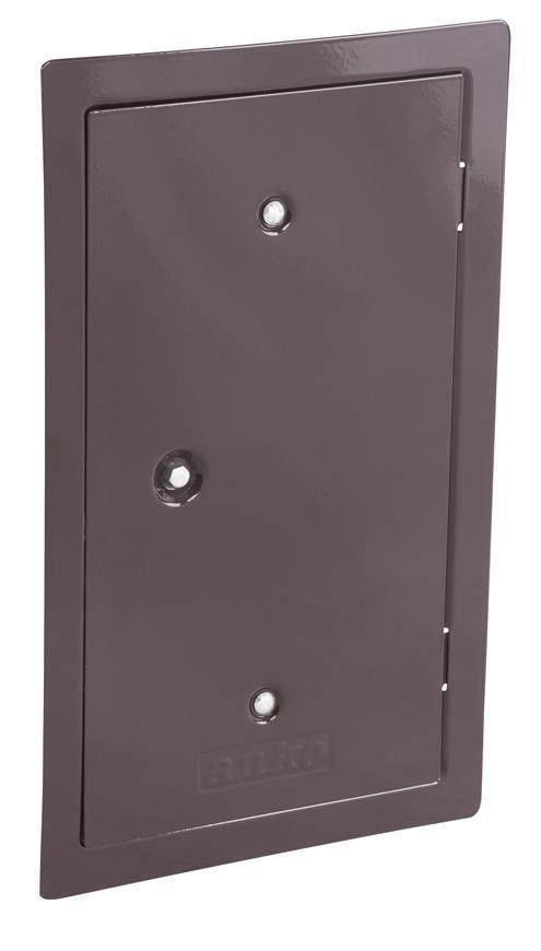 Dvierka Anko C2.3B 130x260 mm, komínové, hnedé, revízne