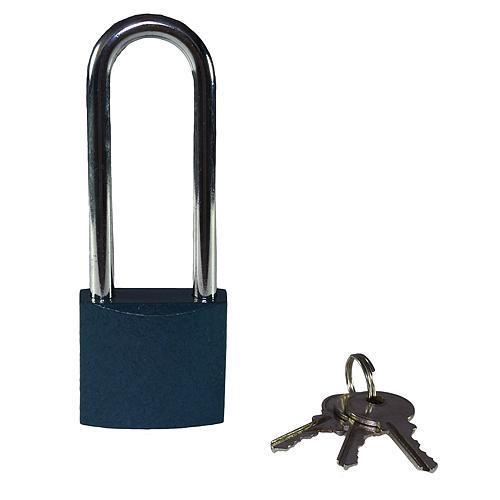 Zámok Xlocker BlueIron I 38 mm, predĺžený, visiaci