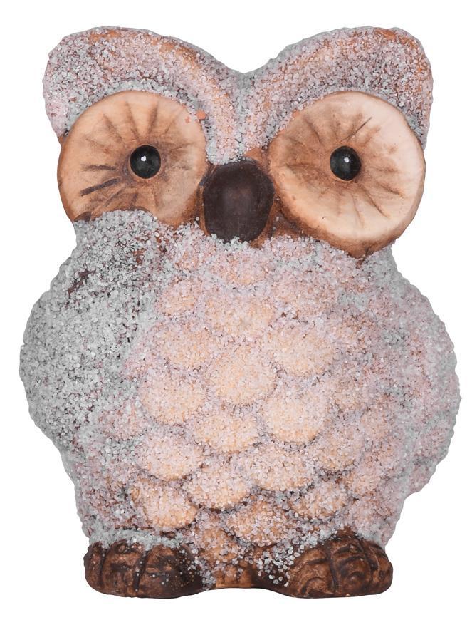 Postavicka Sova, terakota, 9.5 cm