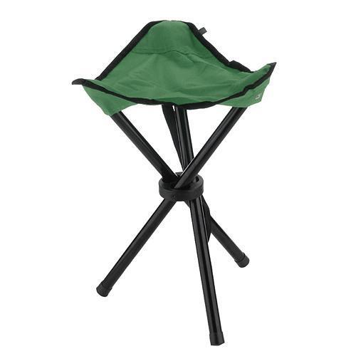 Stolička LEQ CHESTER, zelená, skladacia, 31x40 cm, Oxford 600D