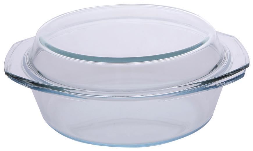 Misa MagicHome, zapekacia, 2.5 lit, borosilikátové sklo, oválna