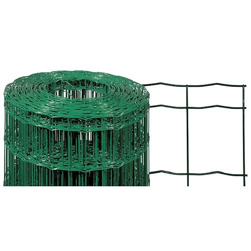 Pletivo EUROPLAST 2, 1500/100x50/2,20 mm, zelene, RAL 6005, Zn+PVC, ohradove, bal. 25 m