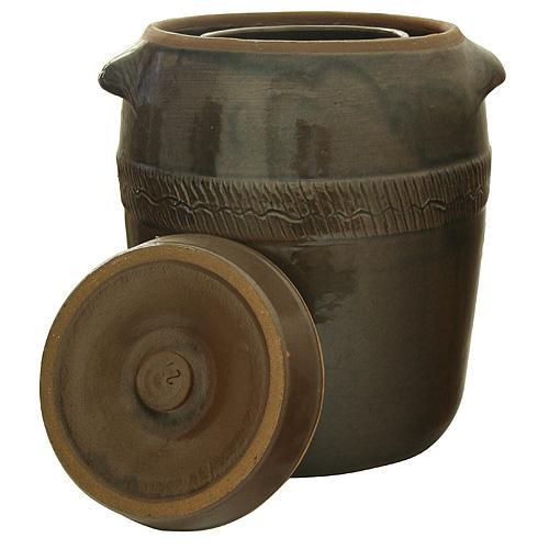 Súdok Ceramic 05 lit, na kapustu, II.trieda, 24x18 cm