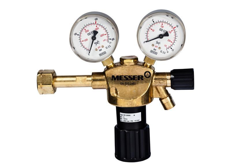 "Ventil Messer 716.20110, G3/8"" LH, DN8, 10 bar, Horľ. plyn"