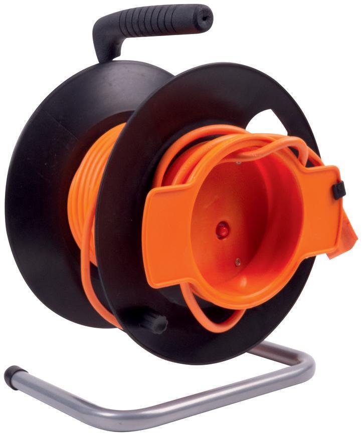 Kábel Strend Pro DG-FB01 50 m + 1.4 m, predlžovací na bubne