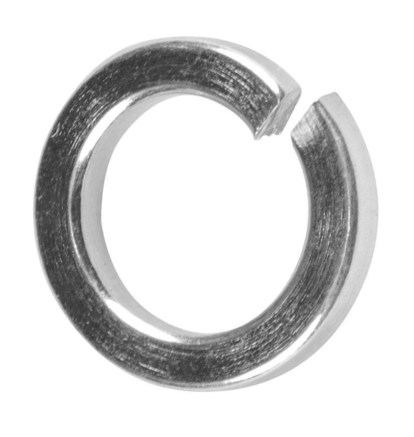 Podložka Strend Pro PACK DIN 127 Zn M08, pružná, pérová, úzka, bal. 100 ks