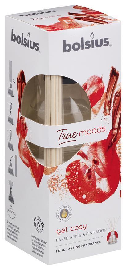 Difuzer bolsius True Moods, Get cosy (pečené jablko a škorica)