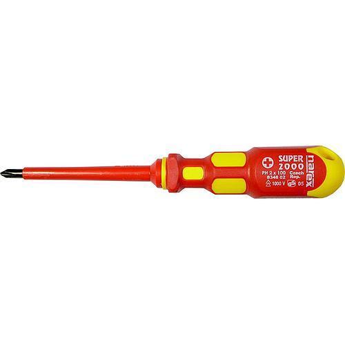 Skrutkovač Narex 8348 01 • Phillips PH 1, 4,5/80/175 mm, 1000V, elektrikársky