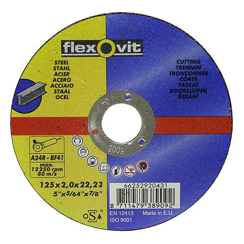 Kotúč flexOvit 20435 150x2,5 A24R-BF41, rezný na kov