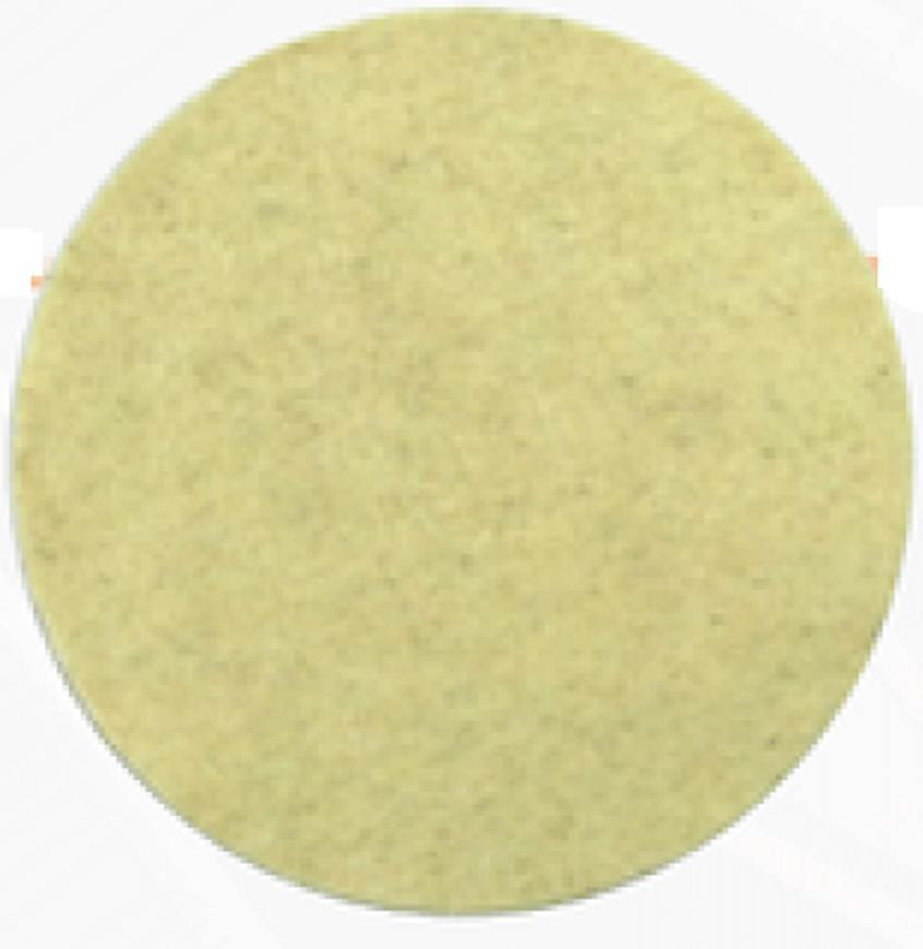 Kotuc GermaFlex Gerfelt 115 mm, Filc, such. zips, 13.300 ot/min