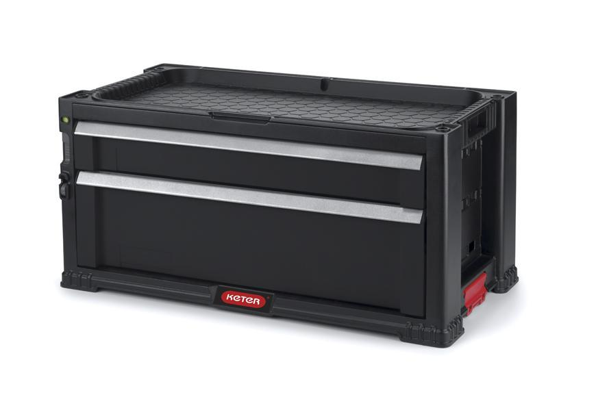 Box Keter® 17199303, TOOL CHEST, 2 zásuvky, 56x26x29 cm, na náradie