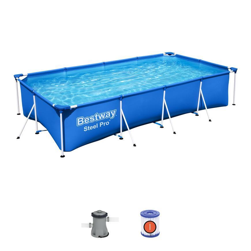 Bazen Bestway® Steel Pro™, 56424, 400x211x81 cm, filter
