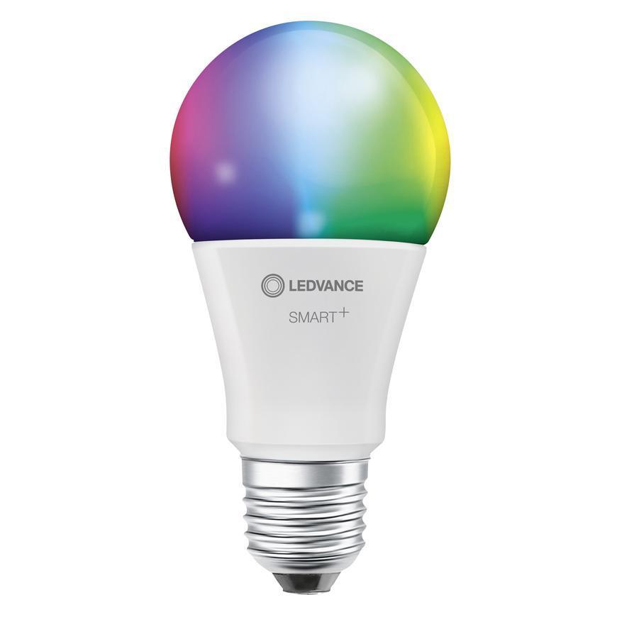 Ziarovka LEDVANCE® SMART+ WIFI 060 (ean5396) dim - stmievateľná, mení farby, 9W, E27, CLASSIC A