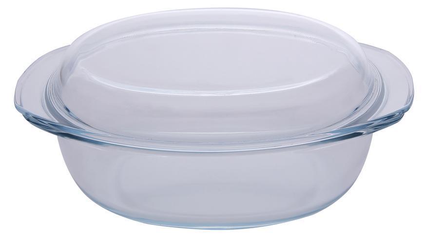 Misa MagicHome, zapekacia, 3.5 lit, borosilikátové sklo, oválna