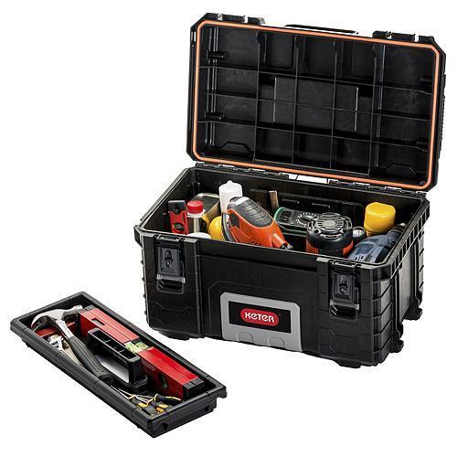 Box Keter® 17200382, Pro GEAR Tool Box, 56x35x31 cm, na náradie