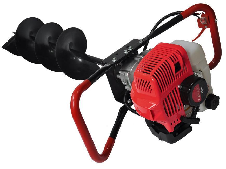 Vrtak Strend Pro LD EA520B, 1,45 kW, benzínový, vrtak priemer 15 cm