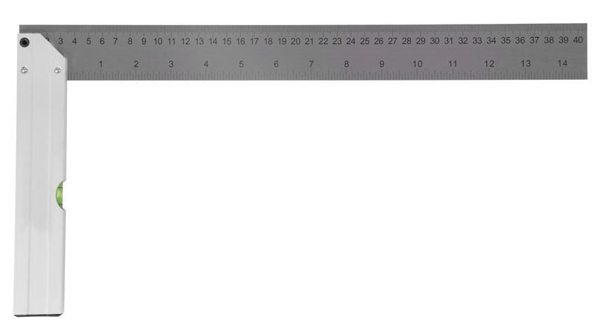 Uholník Strend Pro WPS-702, 400 mm, Alu, libela