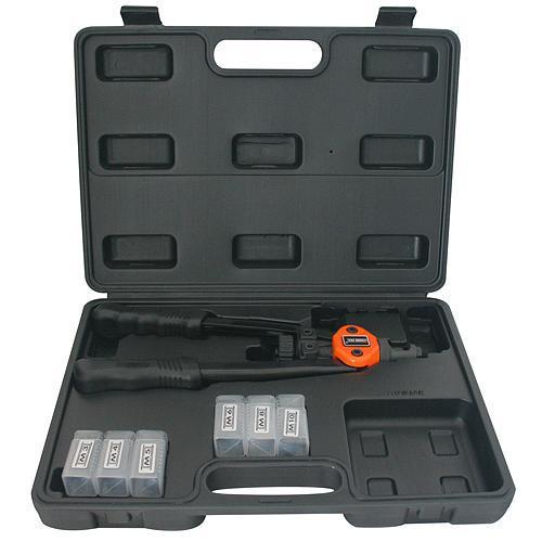 Kliešte Strend Pro BT-605, 330 mm, nitovacie, pákové, pre maticové nity, v kufri