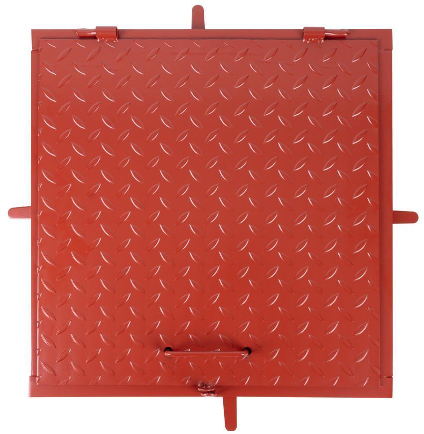 Poklop MC50, 500x500 mm, kanálový, farba, max. 150 kg