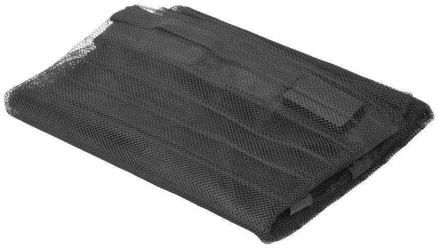 Sieť proti hmyzu Strend Pro, 220x120 cm, 9x magnet, čierna