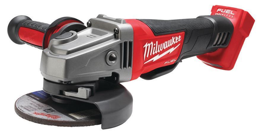 Bruska Milwaukee® M18 CAG125XPD-0X, bez aret., uhlová