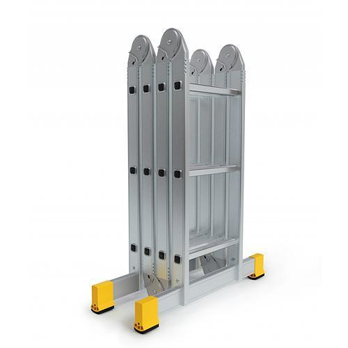 Rebrík ALVE 4413, 4x04, kĺbový, A123/B463/H447