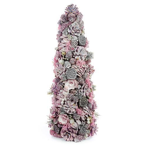 Dekoracia MagicHome X9686, ružový, 50 cm, prírodný