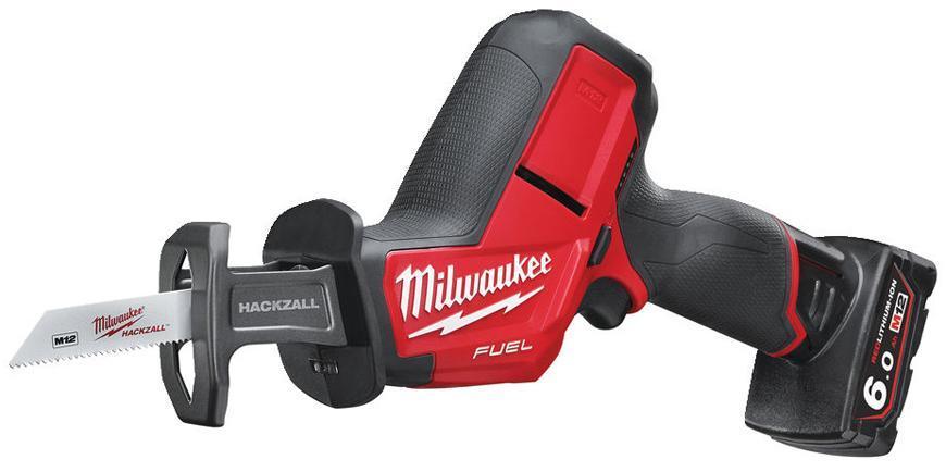 Pila Milwaukee M12 CHZ-602X, 2x6.0 Ah, chvostova