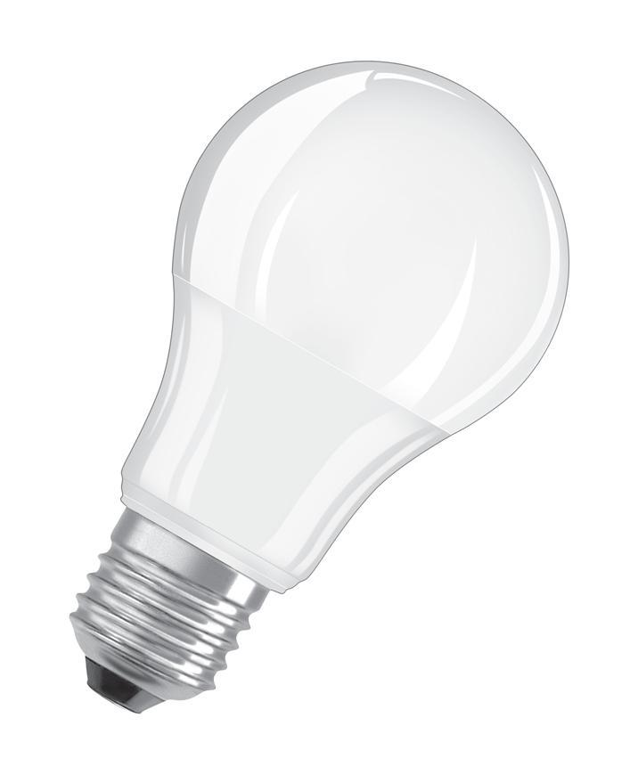 Ziarovka OSRAM® LED FR 060 (ean3381) non-dim, 8,5W/840 E27 4000K Value CLASSIC A
