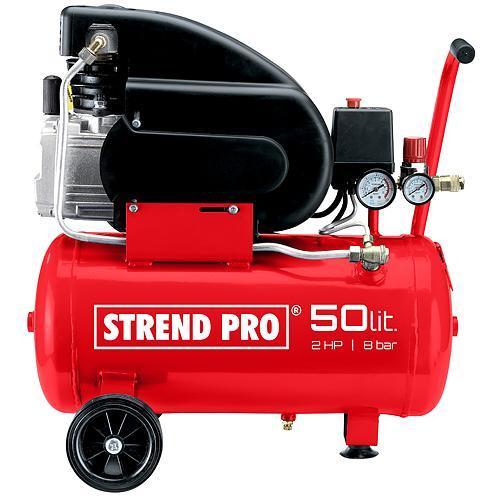 Kompresor Strend Pro FL2050-08, 1,5 kW, 50 lit, 1 piestový