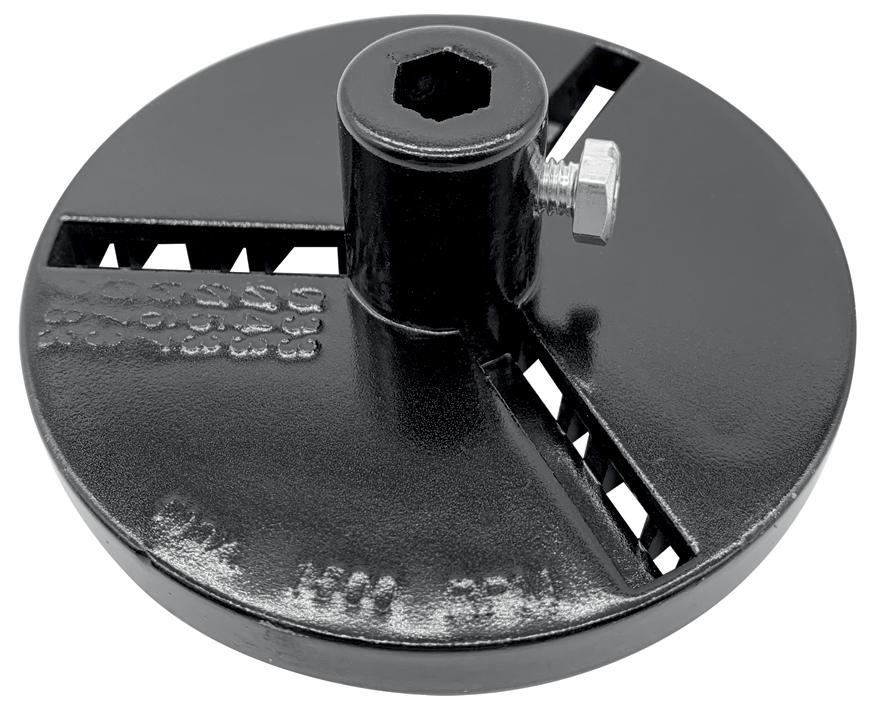 Unášač vyrezávacích koruniek Strend Pro, s vrtákom, ALU 33-43-53-67-73-83 mm