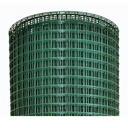 Pletivo GARDEN PVC 1000/16x16/1,2 mm, zelene, RAL 6005, štvorhranné, záhradné, chovateľské, bal. 25