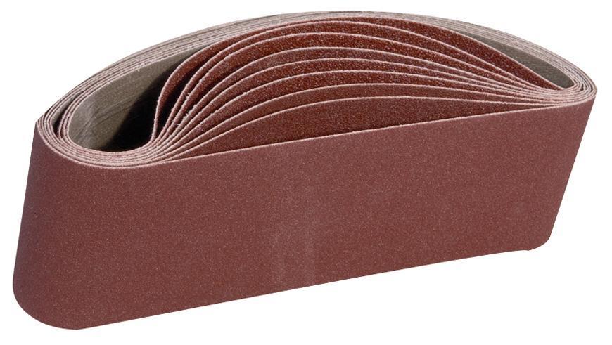Pás Worcraft BS08-76, P150, 10 ks, brúsny