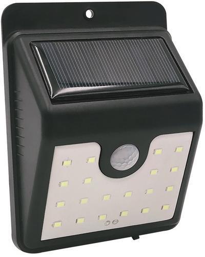 Svietidlo solárne Strend Pro SL6250, 20x LED, senzor pohybu, 100 lm