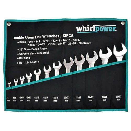 Sada kľúčov Whirlpower® 1241-1-C12, 12 dielna, vidlicová