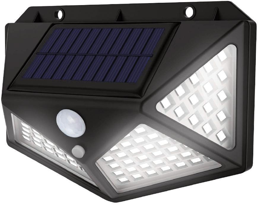 Svietidlo solárne Strend Pro SL6251, 100x LED, senzor pohybu, 200 lm