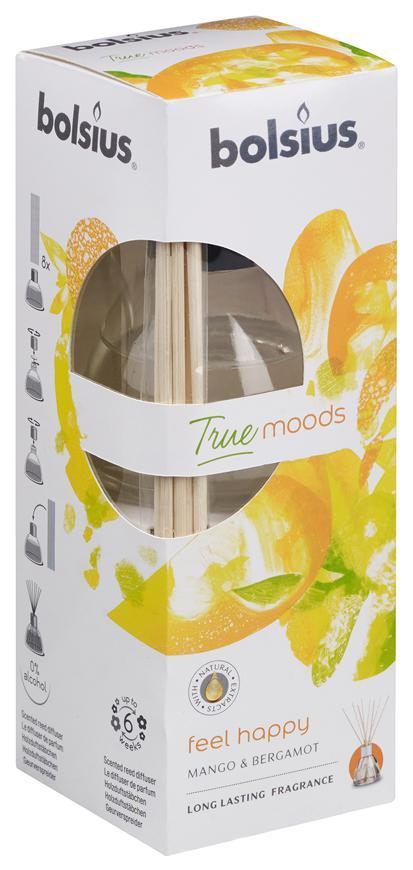 Difuzer bolsius True Moods, Feel happy (mango a bergamot)