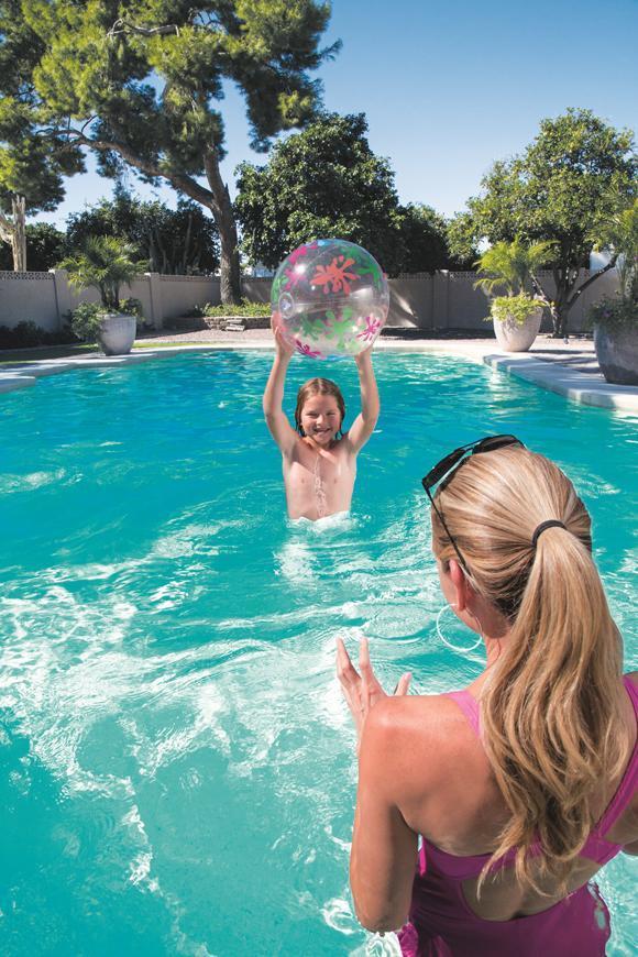 Lopta Bestway® 31036, Designer Beach Ball, nafukovacia, do vody, detská