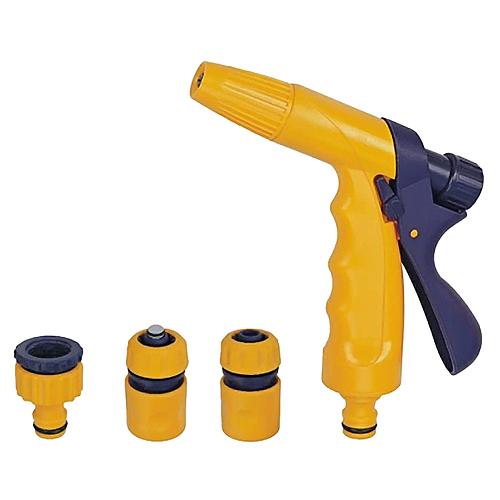 Pištoľ Strend Pro Garden DY2321, zavlažovacia, záhradná, spojka, STOP spojka, adaptér