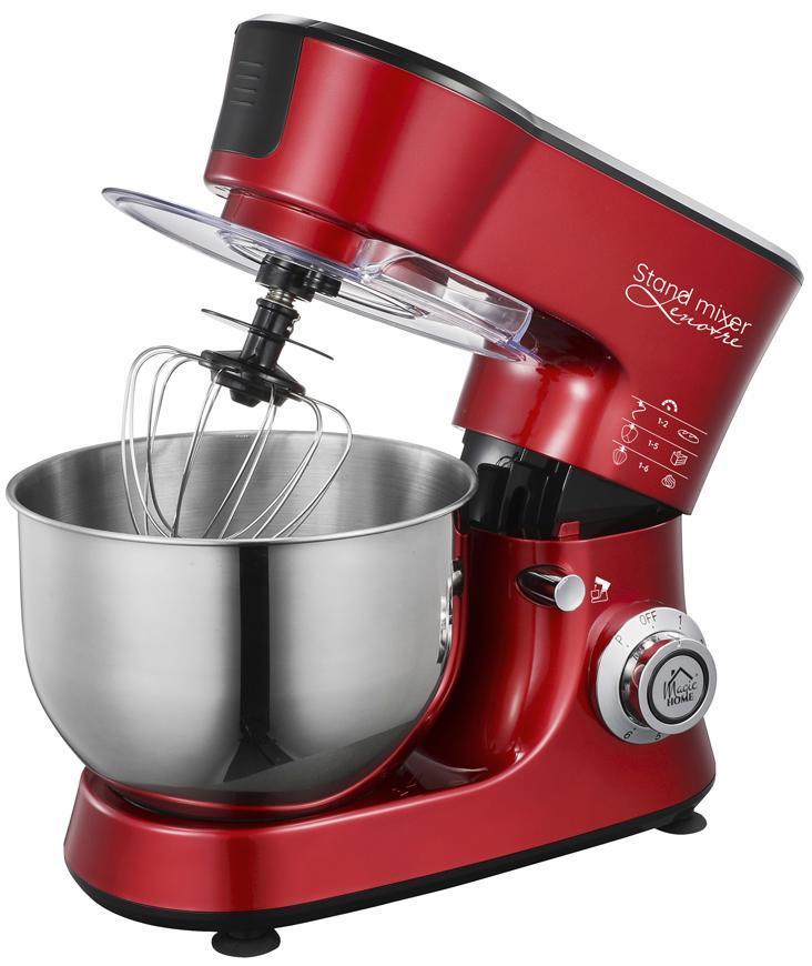 Kuchynský robot MagicHome, Lenotre, 1000W, 230V, 3v1, červeno-čierny