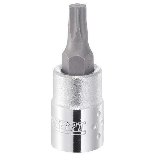 "Hlavica Expert E030122, T10 mm, TORX, zástrčná, 1/4"""