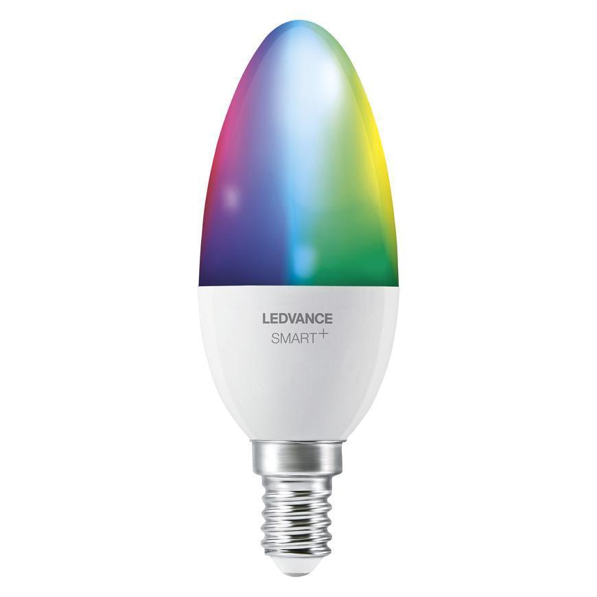 Ziarovka LEDVANCE® SMART+ WIFI 040 (ean5556) dim - stmievateľná, mení farby, 5W, E14, CLASSIC B
