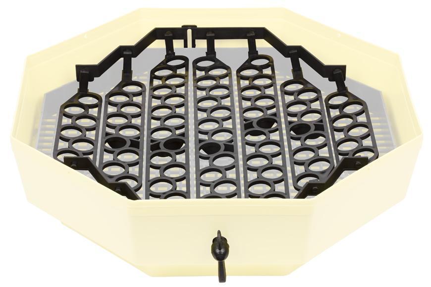 System CLEO IPPE-5, na otáčanie, prepeličie vajcia