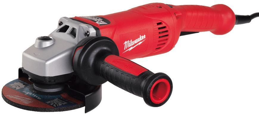 Bruska Milwaukee® AGV 17-150 XC/DMS, 150 mm, 1750W, protector-motor, uhlová