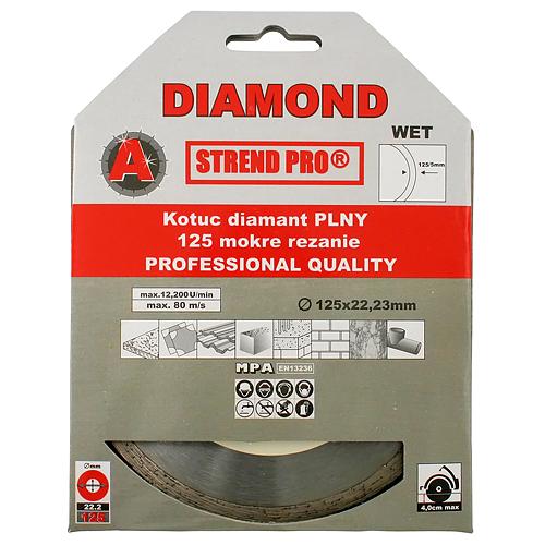 Kotúč Strend Pro 521B, 180 mm, diamantový, plný