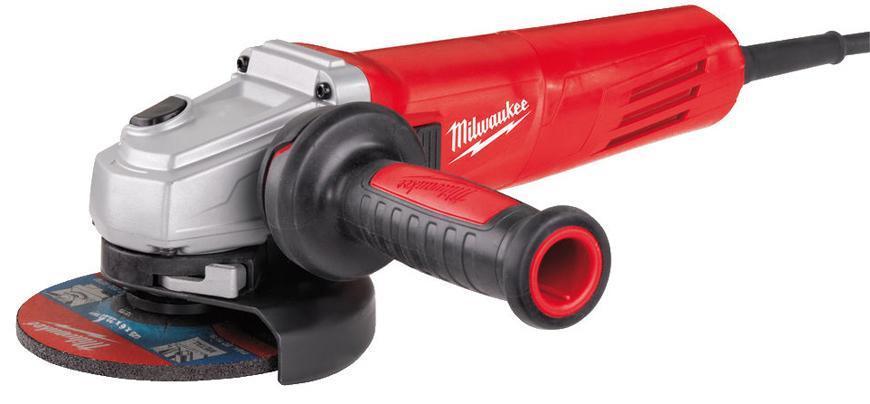 Bruska Milwaukee® AGV 12-125 X, 125 mm, 1200W, protector-motor, uhlová