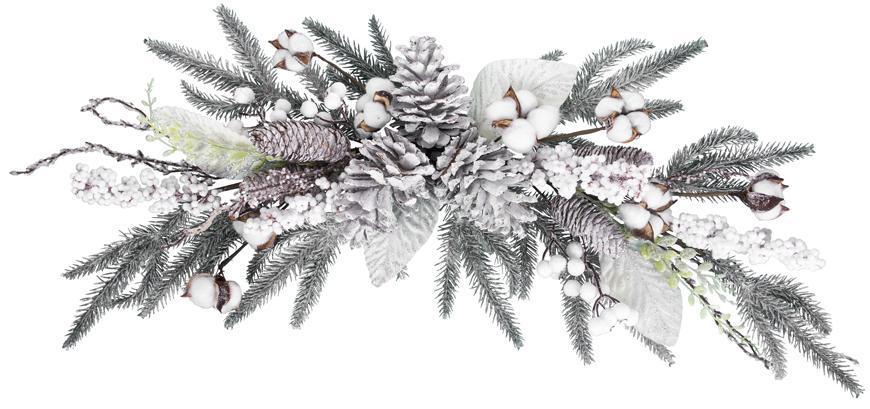 Ikebana MagicHome Vianoce,  70x25x11 cm