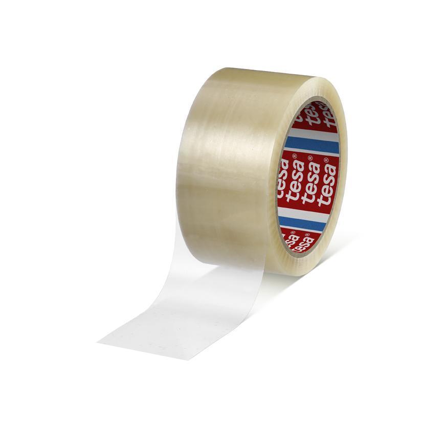Páska tesa® STANDARD, lepiaca, baliaca, transparentná, 48 mm, L-66 m